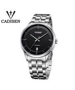 CADISEN Original Brand Watch Men date Automatic Self-wind Stainless Stee... - $110.49