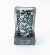 Rare Retired TERVIS Contrast Collection BAMBOO Black & White 16oz Tumble... - $27.08