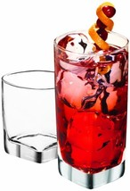 Anchor Hocking Rio Small and Large Drinking Glasses, 16-Piece Glassware Set - $29.46