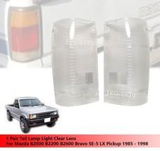 Rear Tail Light Lens Lenses For Mazda Magnum B2000 B2200 B2600 White Color - $34.36