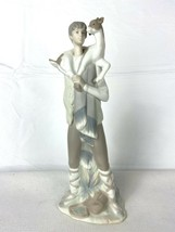 Lladro Figurine #4506 Shepherd Boy with Goat on Shoulders - $129.95