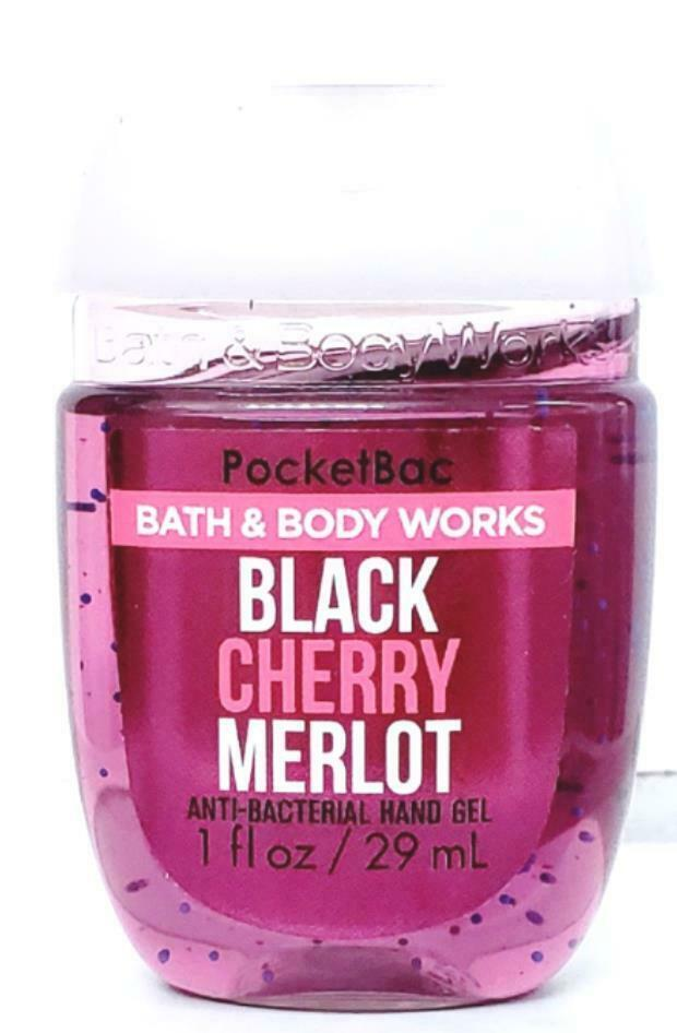 Bath & Body Works Black Cherry Merlot Hand Soap, Pocketbac & Wallflower Refill
