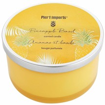 BRAND NEW Pier 1 Imports PINEAPPLE BASIL Collection Filled 3-Wick Candle - £26.78 GBP