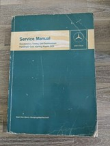 August 1959 Mercedes Benz Passenger Cars Maintenance Service Manual Tuning Cars - $59.39