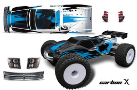 Rc Grafik Kit Abziehbild Wrap für Jconcepts Punisher RC8T Illuzion Crbnx U - $29.65