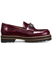 Coach Women's Slip On Platform Leather Fashion Shoes Lenox Loafer Cabernet image 2
