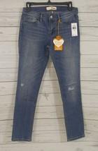 Dittos Women's Sienna Mid Rise Skinny Indigo Blue Jeans Size 7/28   (E003) - $16.69