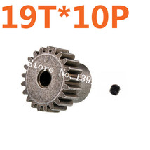 10Pcs/Lot Metal Motor Gear 19T Hsp Spare Parts Pinion Metal Gear For Traxxas Hpi - $21.28