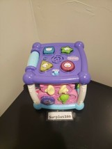 VTECH Busy Learners Activity Cube - Purple  - $14.84