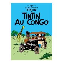 Tintin in the Congo Tintin Poster