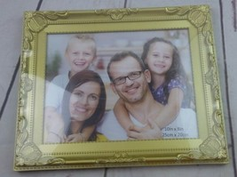New Picture Frame Set of 2 Black and Gold 10in by 8in (25cm × 20cm) image 2