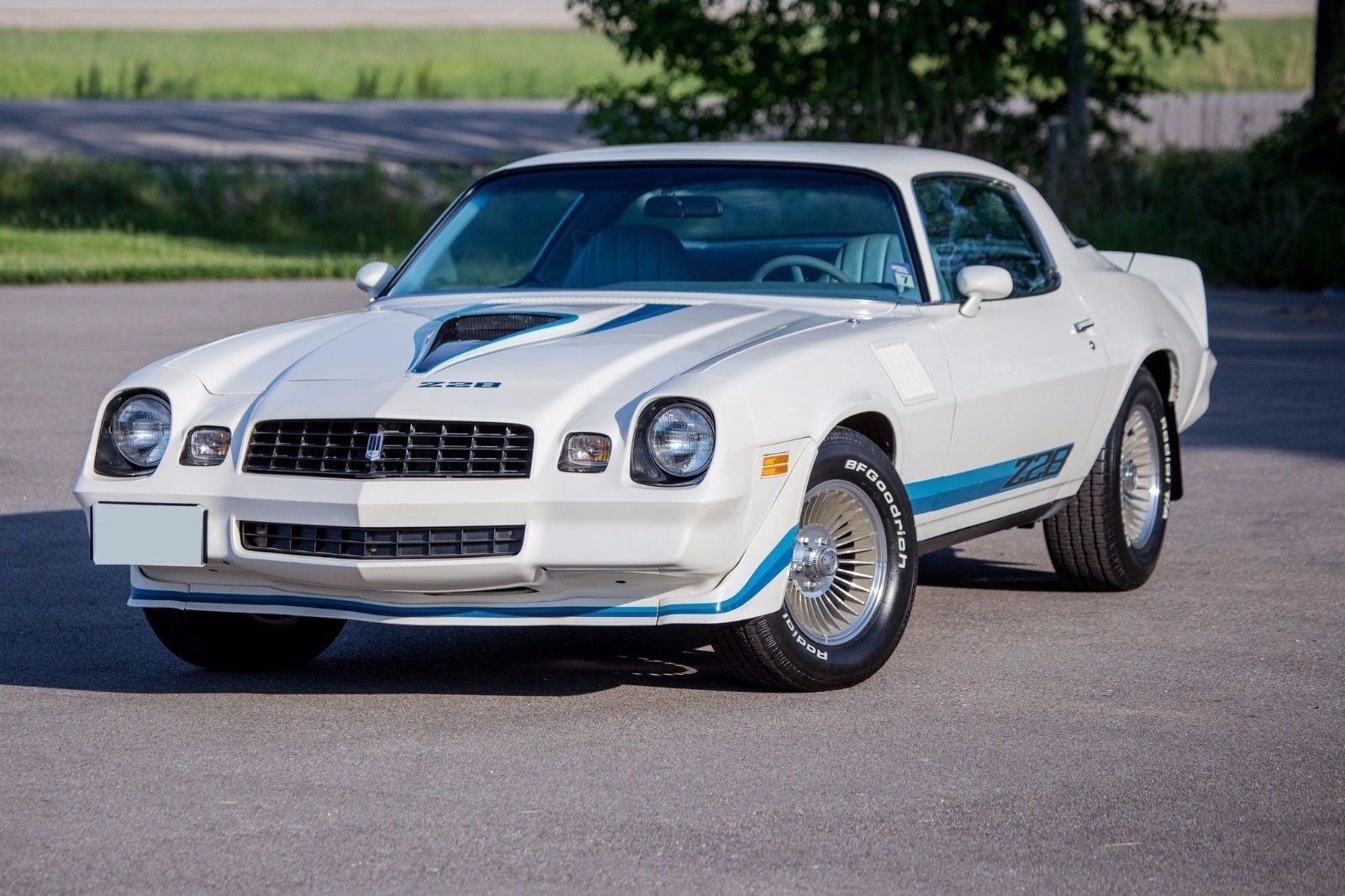 Primary image for 1979 CHEVROLET CAMARO Z28 White POSTER | 24 x 36 INCH | muscle car |