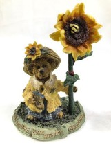 Boyds Bears & Friends The Bearstone Collection Blossum Berriweather Bloom w Joy - $7.83