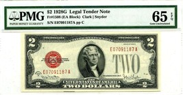 US $2 DOLLARS 1928 G LEGAL TENDER NOTE F 1508 GEM UNC LUCKY MONEY VALUE... - $315.00