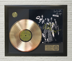 ALICE COOPER - LOVE IT TO DEATH FRAMED GOLD LP REPRODUCTION SIGNATURE DI... - $151.95