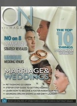 ON - August 2008 - Marriage & Weddings, No on 8,   Pet Fashions, Foster ... - $0.97