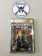 Tom Clancy's Splinter Cell: Pandora Tomorrow (Microsoft Xbox, 2004) - $7.60