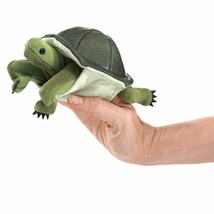 Folkmanis Mini Turtle Finger Puppet - $14.17