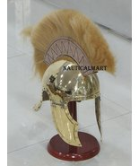 NauticalMart Attic Brass Greek Armor Helmet With Plume - $180.00