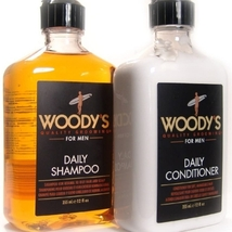Woody's Daily Shampoo & Conditioner, 12oz each