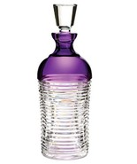 Waterford Mixology Decanter Circon Amethyst Crystal #156920 New In Box - $289.90