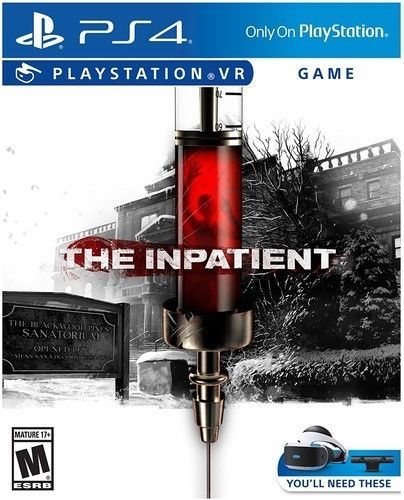 The Inpatient: VR for PlayStation 4 [New Ps4 Video Game]
