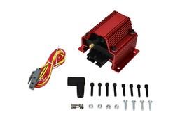 A-TEAM PERFORMANCE 12 VOLT EXTERNAL IGNITION COIL 50K VOLT E-CORE STYLE RED