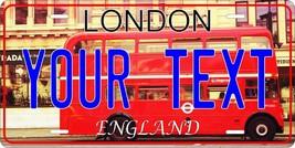 London England License Plate  v2 Personalized Custom Auto Car Bike Motor... - $10.99+