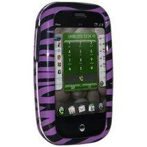 Amzer Zebra Print Snap-On Crystal Hard Case for Palm Pre - Purple - $4.94
