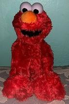 "2016 HASBRO Sesame Street Tickle Me Elmo Laughing Giggling Stuffed Plush Toy 15"" - $23.76"