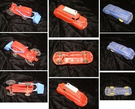 Toy Car Truck Lot Vintage Toy Tractor CarsThomas Toy + - $28.99