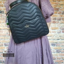 NWT Kate Spade New York Reese Park Ethel Black Quilted Leather Backpack Bag New - $200.00