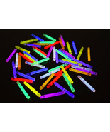 1.5 inch 8 Color Assorted Mini Glow Sticks- 50 per package - $7.95