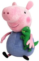 "TY Beanie Buddy Large George the Pig - 16"" - $32.08"