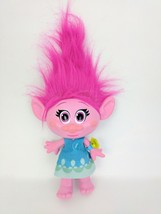 "Troll Talking Pink Doll Sings Lights Up "" Hug Time"" POPPY Hasbro 2015 Movie - $12.20"