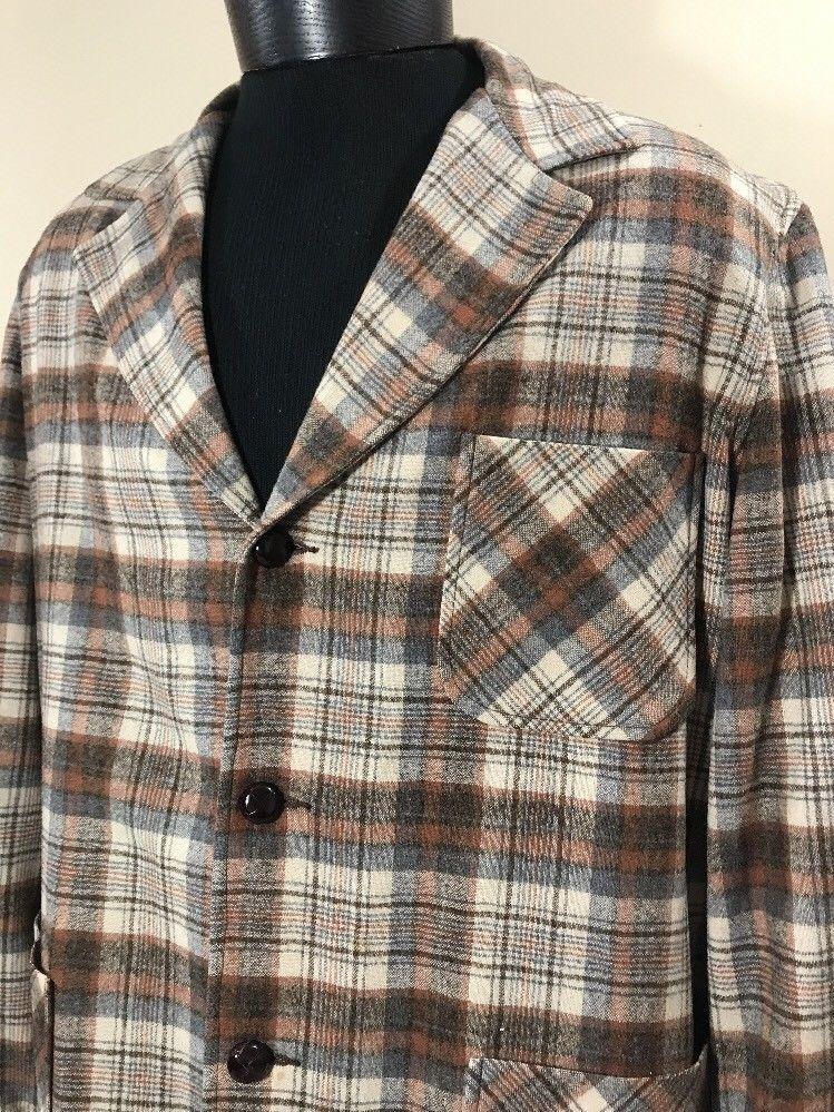 9f61ecde3 VTG PENDLETON Flannel Shirt Shadow Plaid and 50 similar items