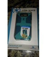 Authentic Speck Candy Shell Grip Case For Motorola Droid Mini Teal/Navy - $4.76