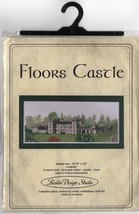 Cross Stitch Kit by Roslin Design Floors Castle Scotland Hard to Find - $34.47