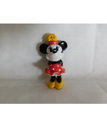 Minnie Mouse Plastic Figurine 2 1/2 Inches Tall - $1.99