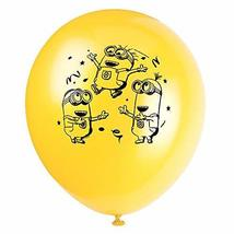 """12"""" Latex Despicable Me Minions Balloons, 8ct - $5.87"""