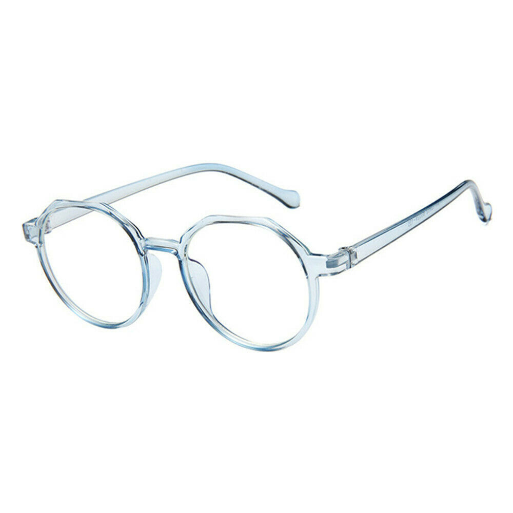 New Oval Fashion Classic Clear Lens Glasses Frame Retro Casual Daily Eyewear image 7