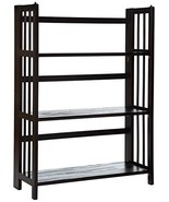 Casual Home 3 Shelf Folding Stackable Bookcase - $50.45