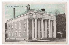 City Hall Belmont New York 1920s postcard - $5.94