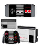 Nintendo Switch Console Joy-Con Skin NES Retro Vinyl Decal Stickers Cove... - $9.00