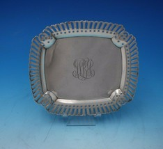 """Tiffany and Co Sterling Silver Business Card Tray with Ball Feet 7"""" x 6""""... - $404.91"""