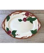 "Vintage Franciscan Apple Oval Serving Platter 14"" x 10"" Made In California - $47.51"