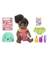 Baby Alive Potty Dance Baby: Talking Baby Doll with Black Curly Hair, Po... - $56.98