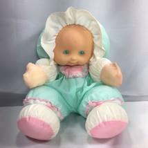 Vintage Puffalump Kids Plush Doll Sherri Blonde Hair Green Eyes Fisher P... - $24.97