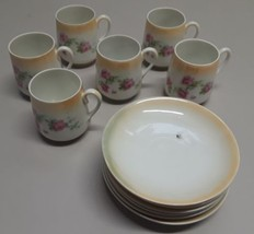 Fine China, Altenburg China Germany, Tea Cup and Saucer Set of 6 - $59.39