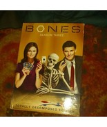 Bones - Season 3 (DVD, 2009, 5-Disc Set includes the start of season 4) - $9.74